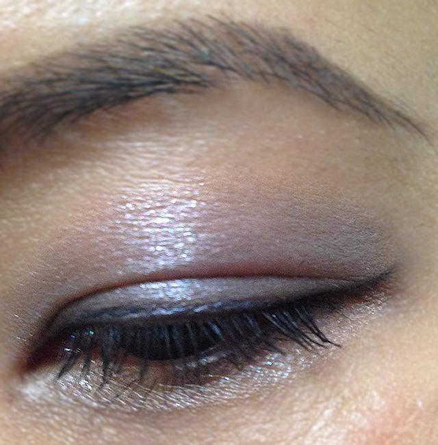 SUQQU Eye Color Palette 03 Aoruri EOTD layered
