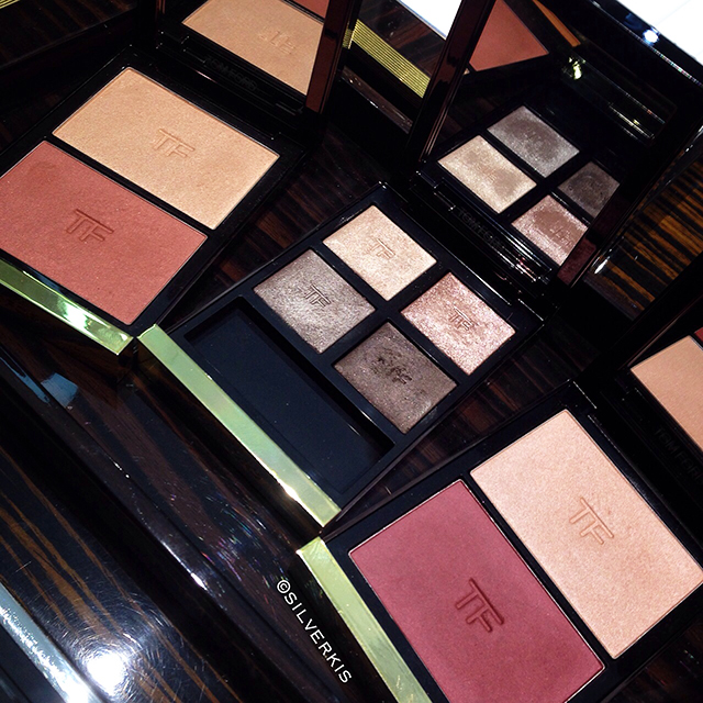 Tom Ford Beauty FW2014 Eye Color Quad and Contouring Cheek Duo