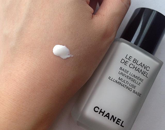 Chanel Le Blanc Multiuse Illuminating Base swatch