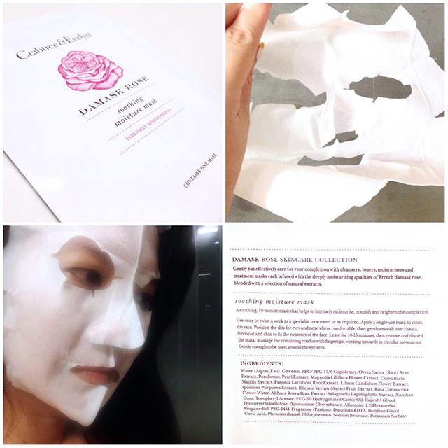 Crabtree & Evelyn Damask Rose mask resized