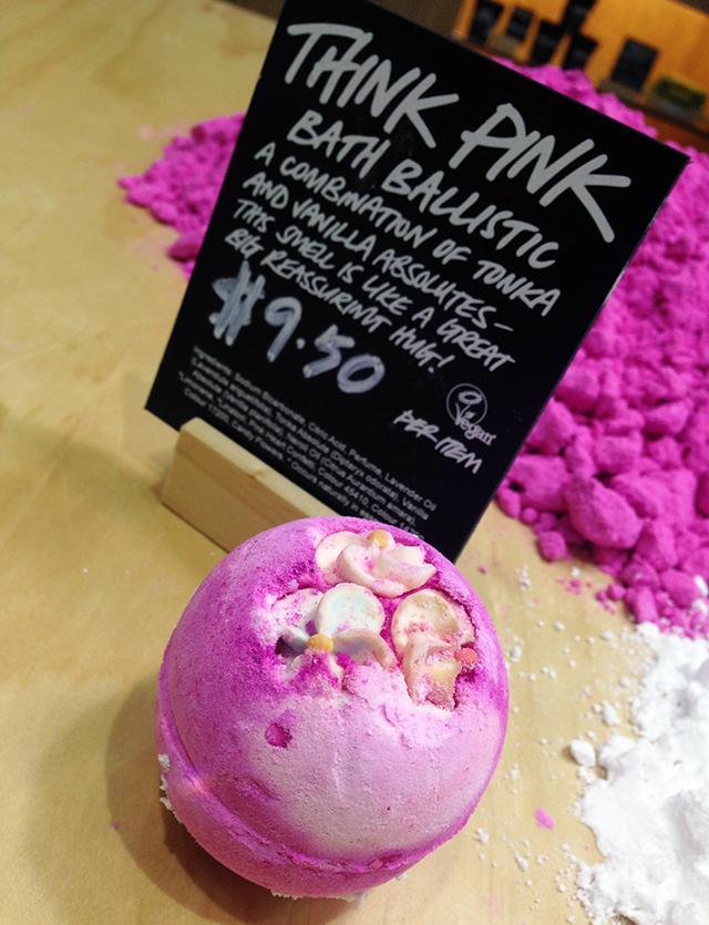 Lush Think Pink Bath Ballistic