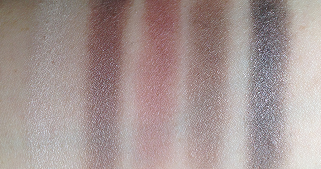 MAC x Brooke Shields Trusted Instinct swatches resized
