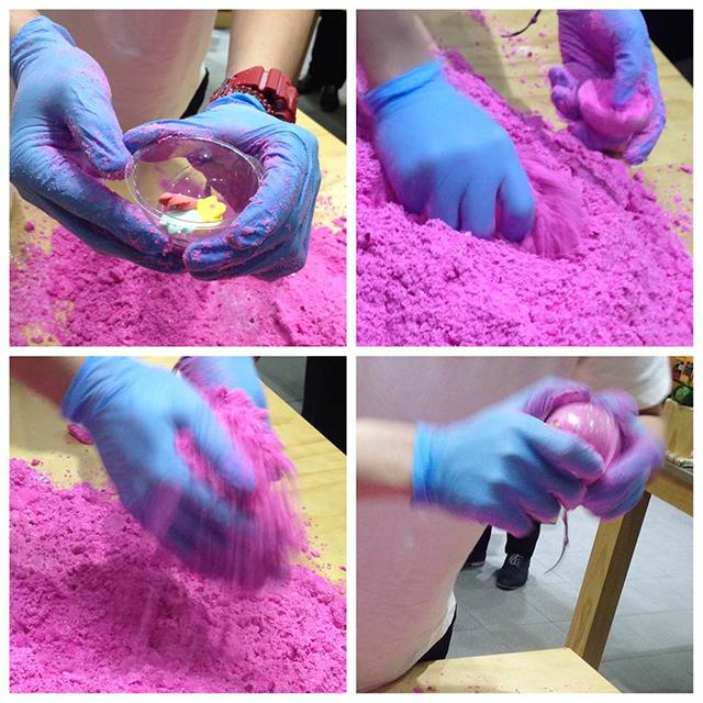 Making of Think Pink