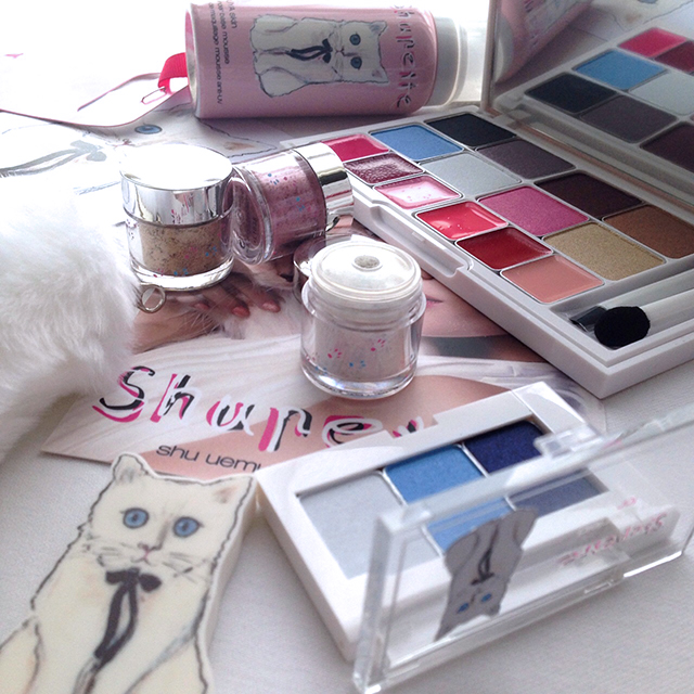 Shu Uemura x Karl Lagerfeld Holiday 2014 Shupette Collection