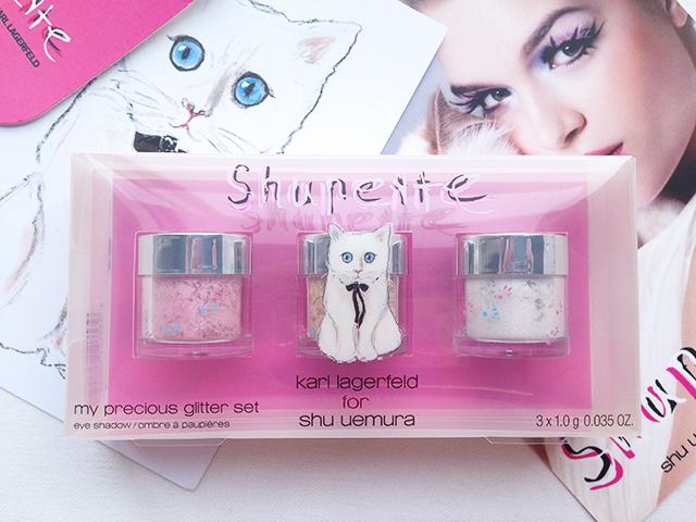 Shu Uemura Shupette My Precious Glitter set