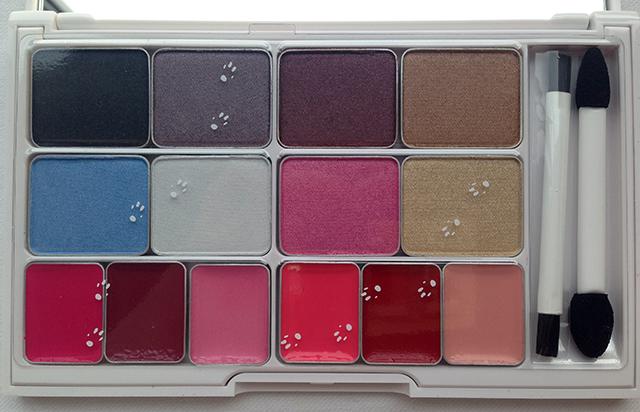 Shu Uemura x Karl Lagerfeld Holiday 2014 Shupette has-it-all palette
