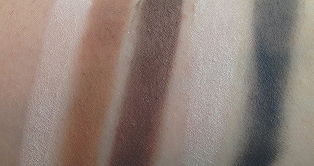 Urban Decay Pulp Fiction swatches