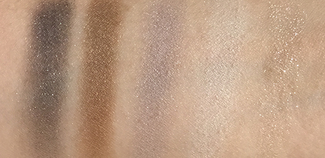 Dior Golden Reflections 5 Couleurs Eyeshadow swatches