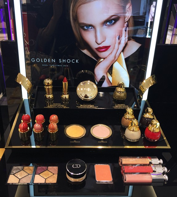 Dior Golden Shock collection for Holiday 2014