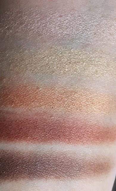 Guerlain Holiday 2014 Petrouchka eyeshadow swatches