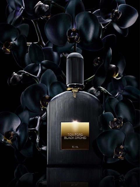 Tom Ford Black Orchid Campaign