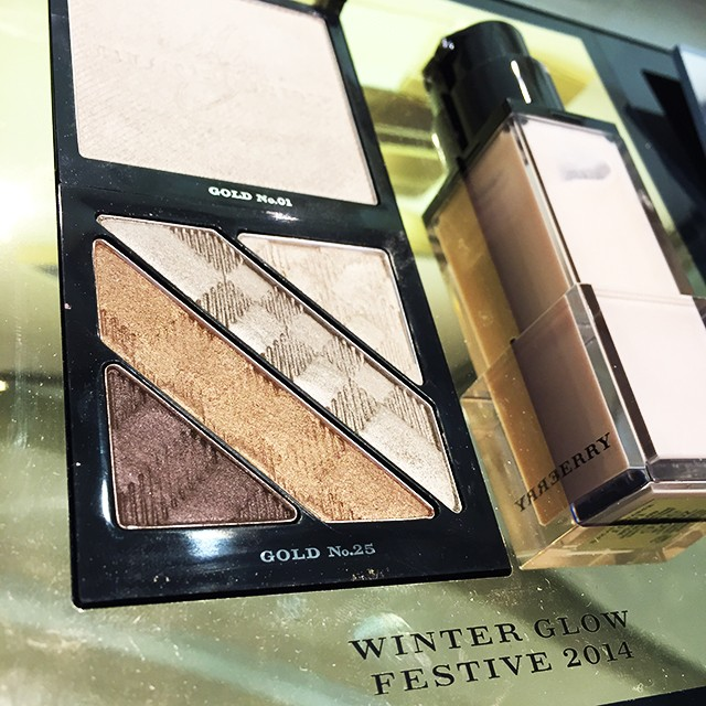 Burberry Gold Glow Complete Eye Palette