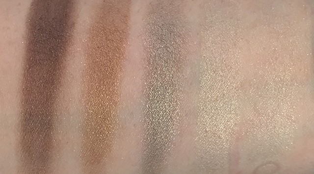 Burberry Gold Glow Complete Eye Palette swatches