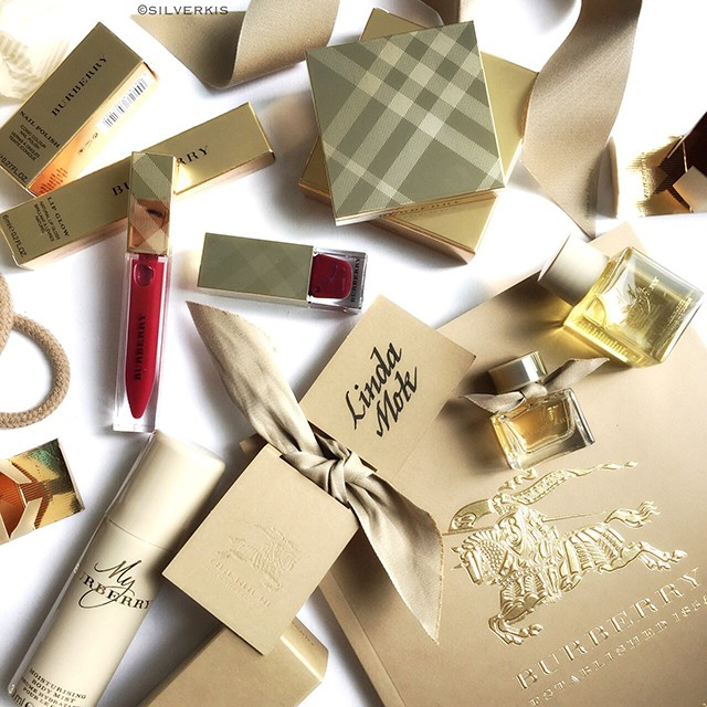Burberry Winter Glow Collection IG