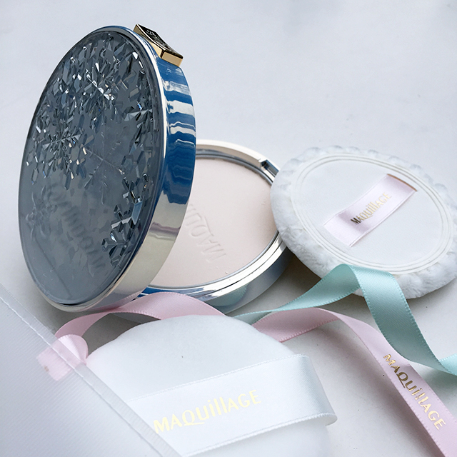 Maquillage Snow Beauty face powder set