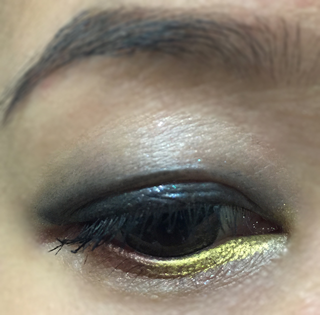 Shiseido Sparkling Party Palette EOTD