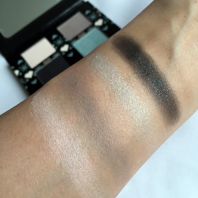 The Body Shop Frosted Pastels Palette swatches