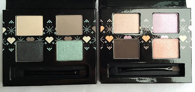 The Body Shop Holiday 2014 Eyeshadow Palettes