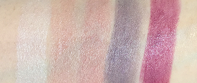 Tom Ford Lips and Boys Casey, Orlando, Stavros, Peter, Alasdhair swatches