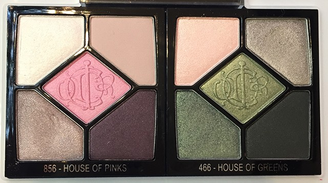 Dior 5 Couleurs Couture Eyeshadow Palettes Spring 2015
