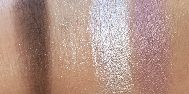 Dior Kingdom of Colors Eyeshadow swatches