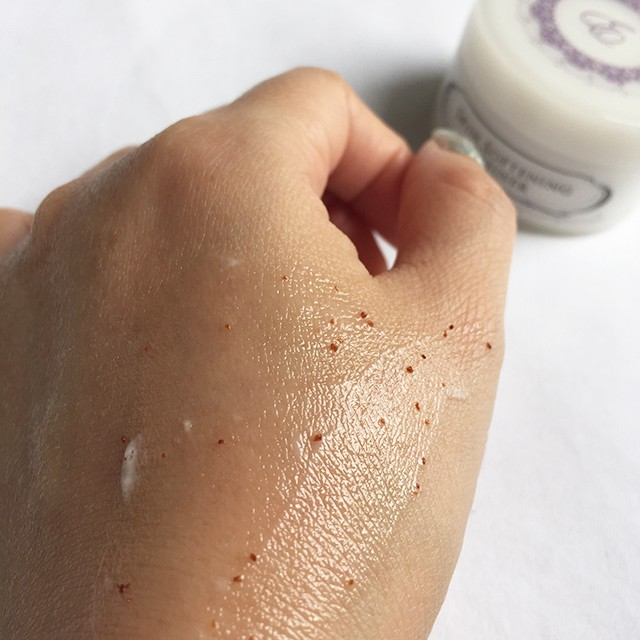 Erabelle Skin Softening Refiner swatch after 5 mins