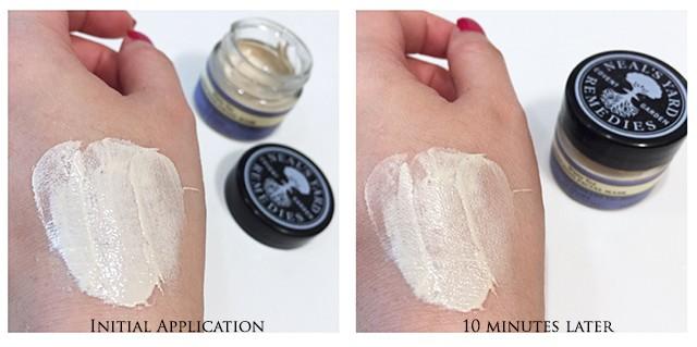 Neals Yard Remedies White Tea Enriching Facial Mask swatch
