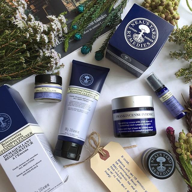 Neals Yard Remedies skincare