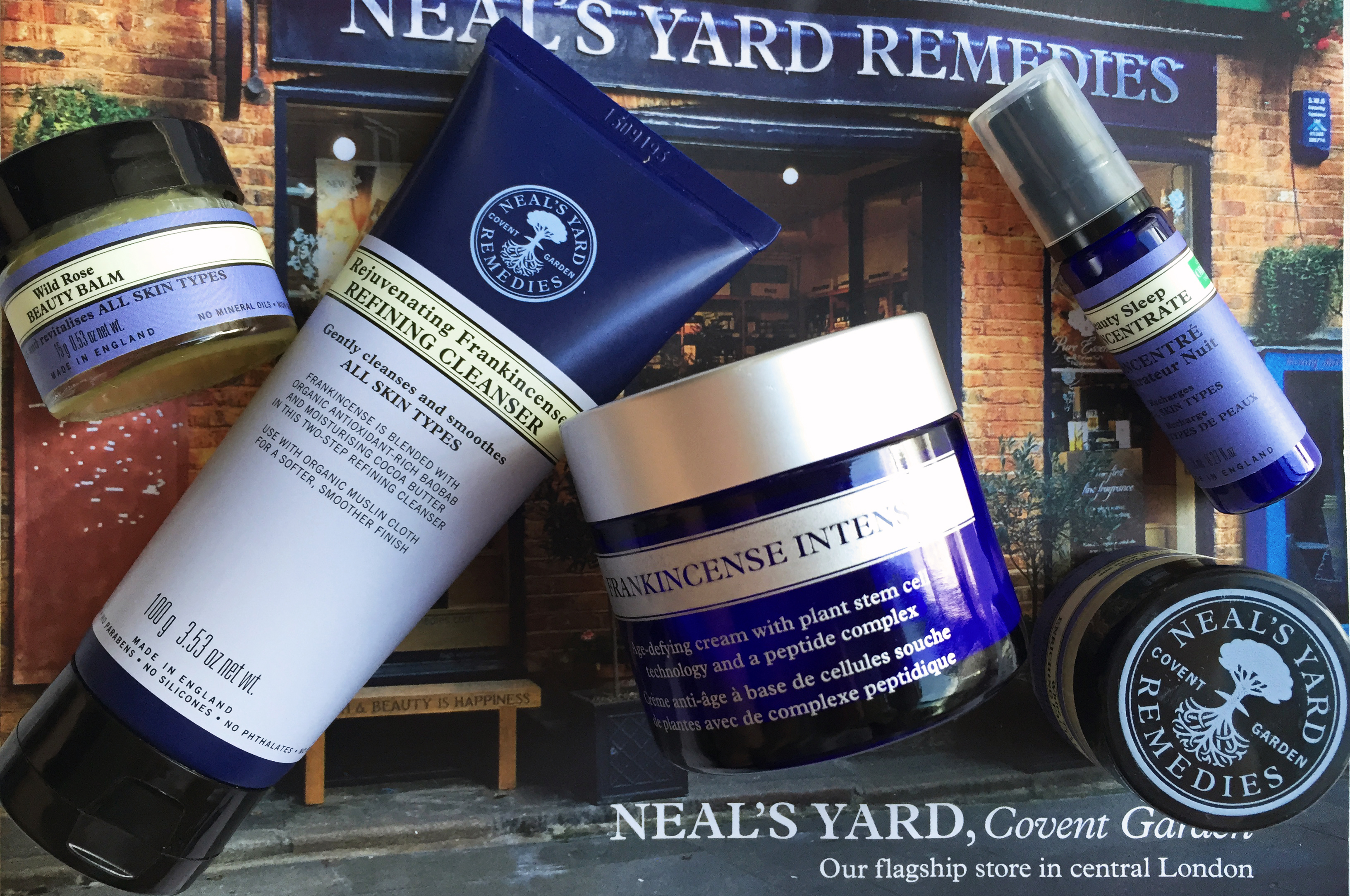Organic Beauty Products >> My First Foray into Neal's Yard Remedies Skincare