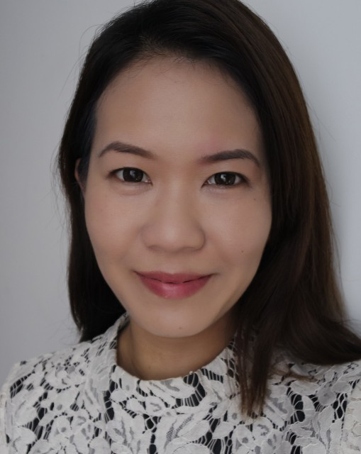 Complexion is luminous and glowy without being dewy.  Most redness has been toned down, although the patch over my left brow is still slightly visible albeit less obvious.