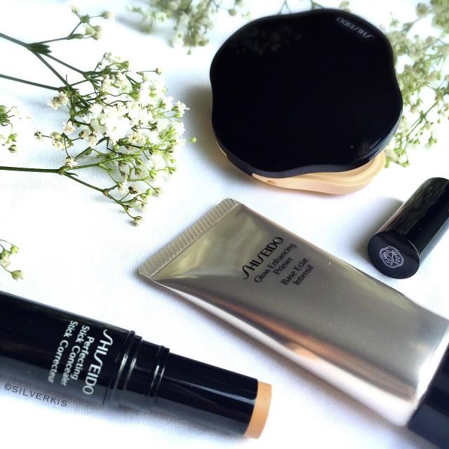 Shiseido Glow Enhancing Primer & Perfecting Stick Concealer