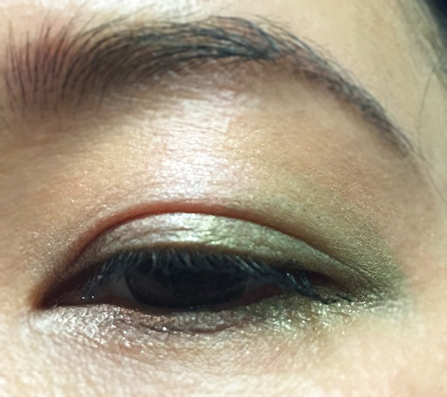 Shiseido Shimmering Cream Eye Color EOTD