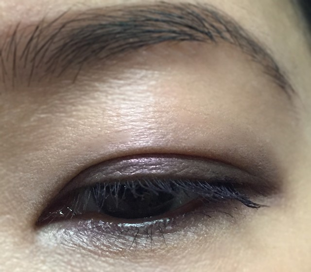 Tom Ford Eye Color Duo Ripe Plum as liner EOTD