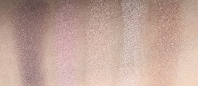 By Terry Eye Designer Palette Smoky Nude bottom row swatches