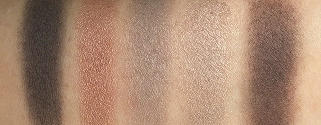 By Terry Eye Designer Palette Smoky Nude top row swatches