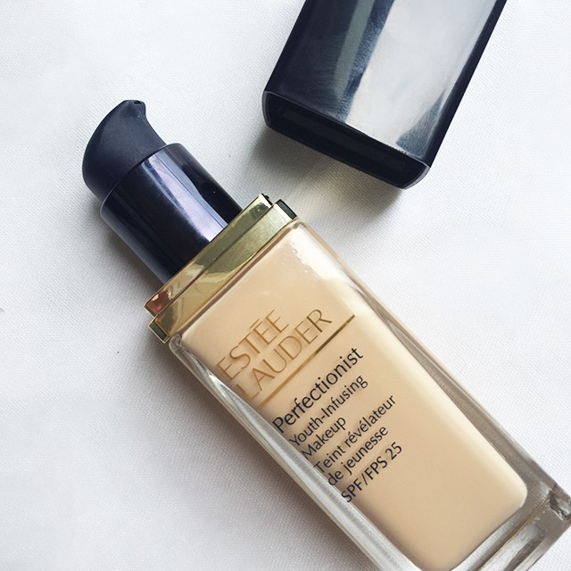 Estee Lauder Perfectionist Youth-Infusing Makeup closeup