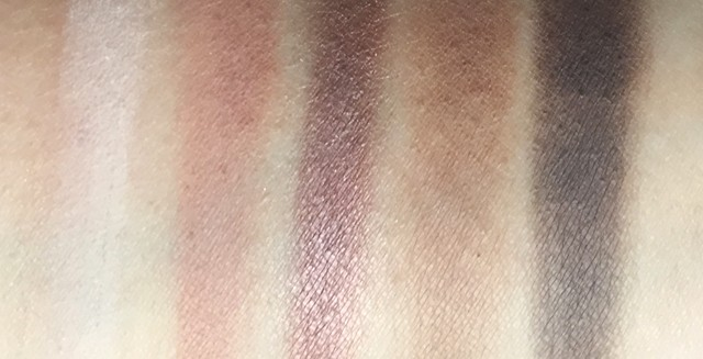 Hourglass Modernist Eyeshadow Palette - Infinity swatches