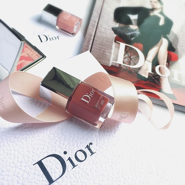 Dior Vernis 585 Poppy Pink