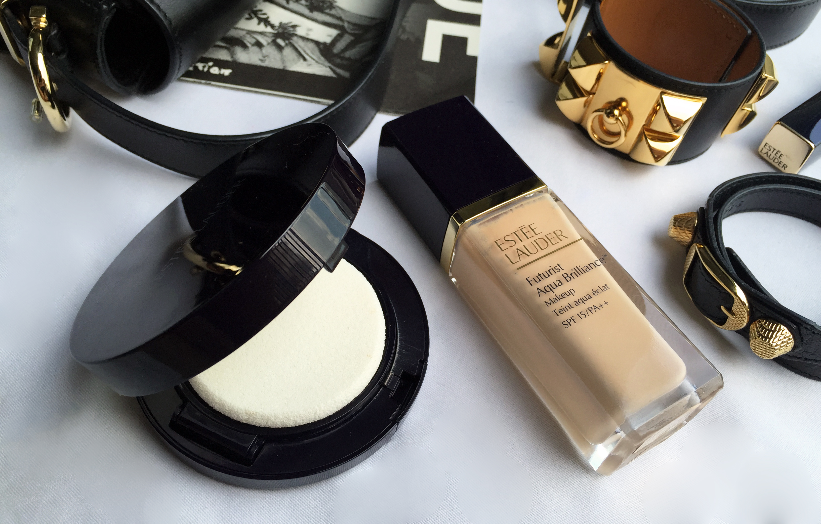 Estee Lauder Futurist Aqua Brilliance Makeup - Silverkis' World
