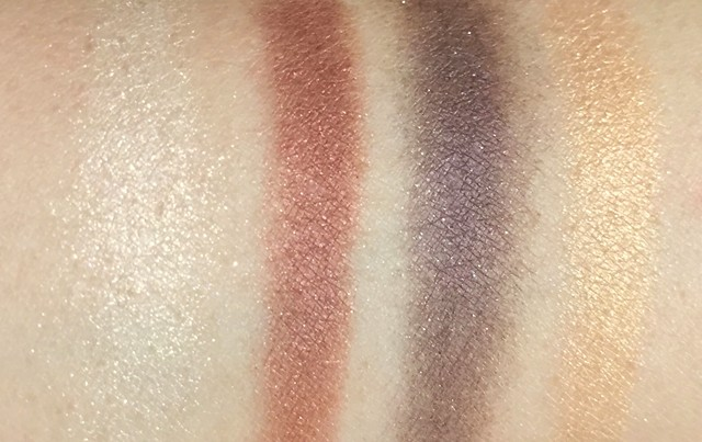Gucci Crystal Copper Magnetic Color Shadow Quad swatches