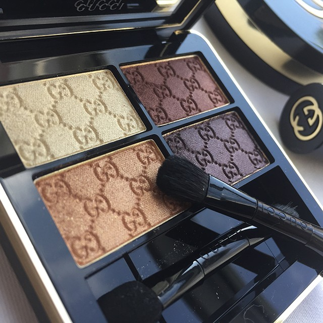 Gucci Crystal Copper Magnetic Color Shadow Quad