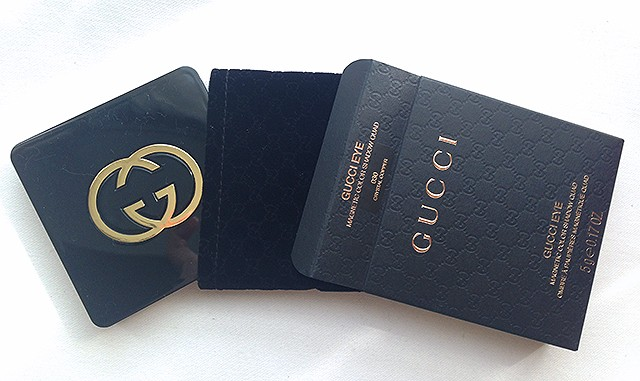 Gucci Magnetic Color Shadow Quad packaging