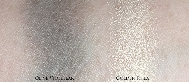 Rouge Bunny Rouge Golden Rhea Olive Violetear Long-lasting Eyeshadow swatches
