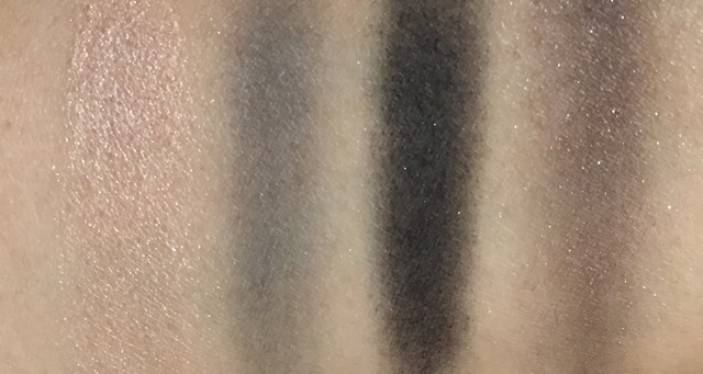 Surratt Artistique Eyeshadow Patine Scintillante Grey Garden Noir Le Plus Noir swatches