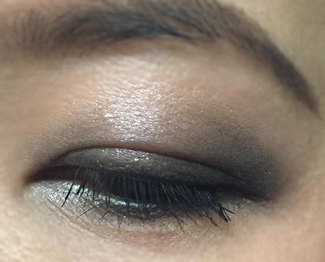 Surratt Artistique Eyeshadow Patine Scintillante Grey Garden Noir Le Plus Noir EOTD