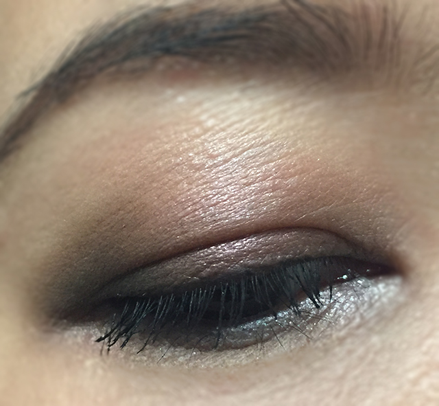 Surratt brown smokey EOTD featuring Marron Ingenue Dore Rose Noir Le Plus Noir