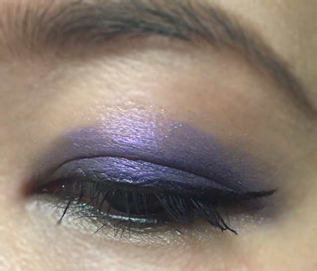 Chanel Stylo Eyeshadow Campanule EOTD