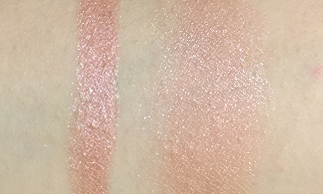 Chanel Stylo Eyeshadow Laurier Rose swatches