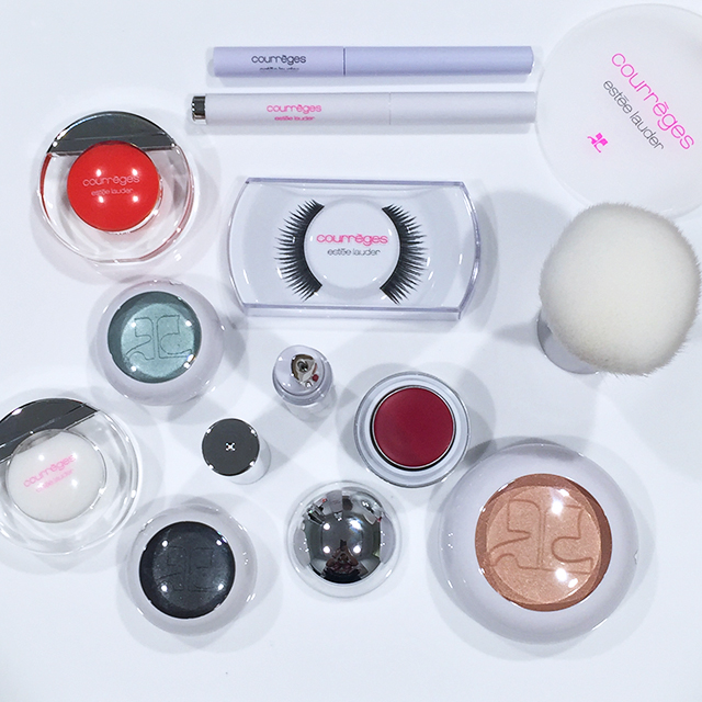 Courreges Estee Lauder complete collection