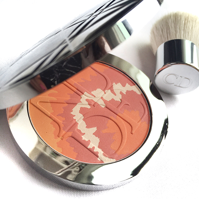Dior Diorskin Nude Tan Tie Dye Edition Coral Sunset
